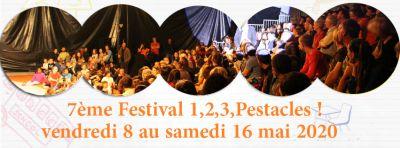 festival 1,2,3 Pestacles