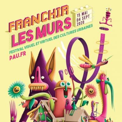 Franchir Les Murs, festival visuel et virtuel des cultures urbaines