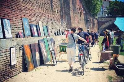 La Garonne Expose, le rendez vous des Artistes à Toulouse