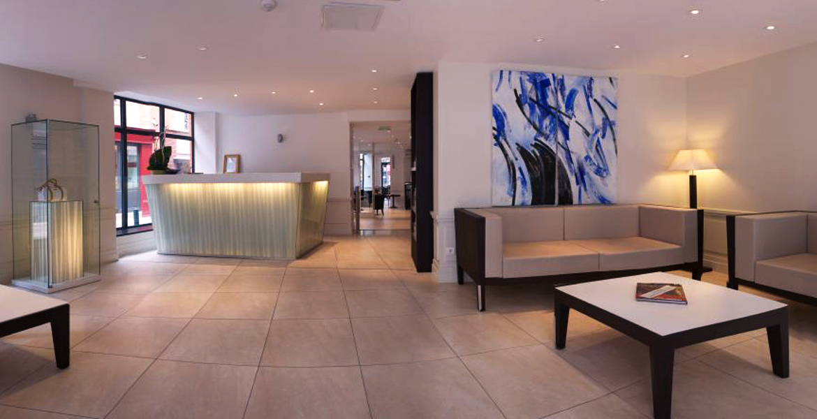 site officiel hotel ours blanc centre toulouse meilleur prix en direct. Black Bedroom Furniture Sets. Home Design Ideas