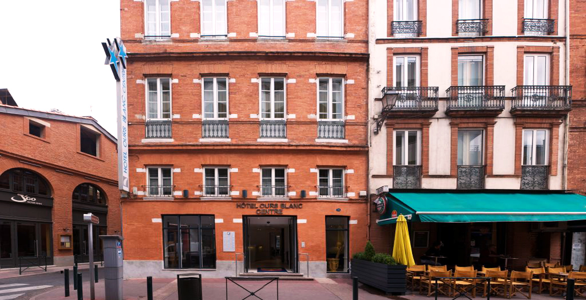 Site officiel hotel ours blanc centre toulouse for Hotels toulouse centre