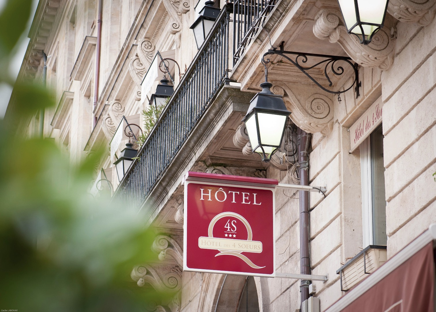 Hôtel des 4 Soeurs, hôtel*** de charme à Bordeaux Centre