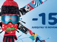 Forfait Ski avec 15% à 30% de réduction