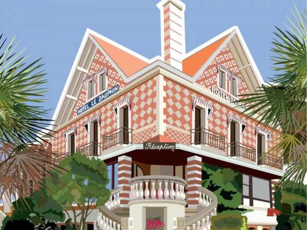 Hôtel Le Dauphin Arcachon