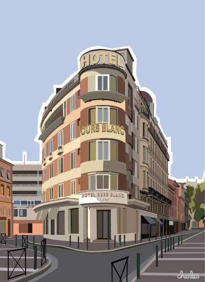 charles HOTELS TOULOUSE WILSON