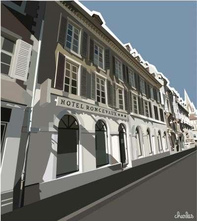 hotel Roncevaux 1