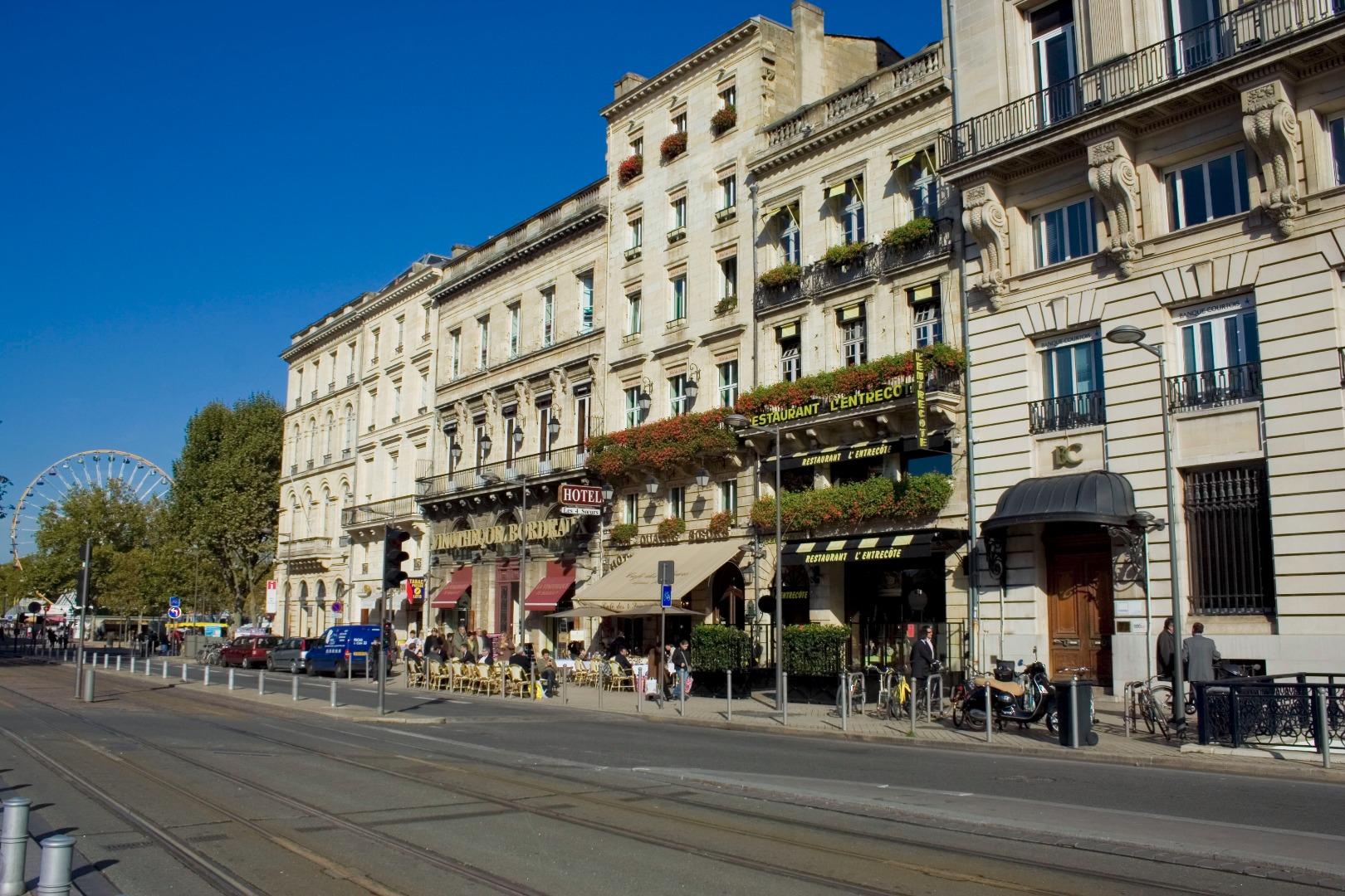 Site officiel de nos 2 h tels bordeaux centre op ra for Hotel meilleur