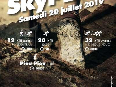 PARCOURS-RÈGLEMENT et FLYER D'INSCRIPTION 2019