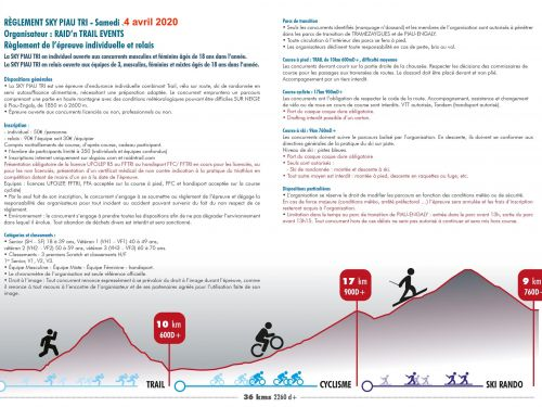 SKY PIAU TRI : FLYER INSCRIPTION