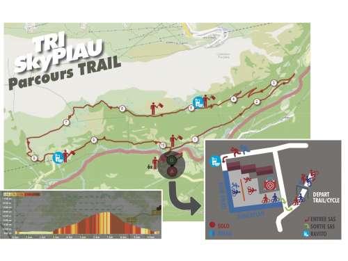 TRAIL 10 km, 600 D+
